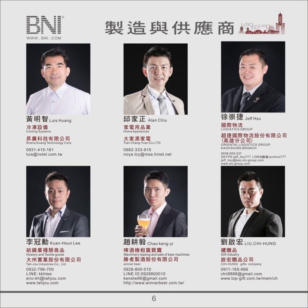 BNI高雄市中心區富樂分會06